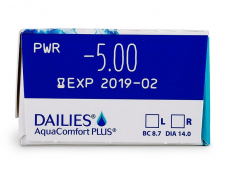 Dailies AquaComfort Plus (30leč)