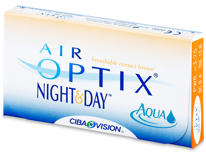 Air Optix Night and Day Aqua (6 leč)